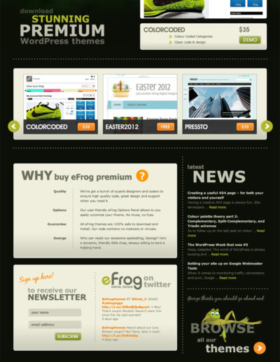 eFrog Digital Design